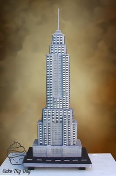 www.cakecoachonline.com - sharing...Empire State Building - Cake by Cake My Day