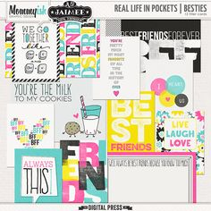 Real Life In Pockets || Besties by Mommyish and Just Jaimee at The Digital Press