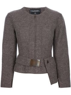 Chanel Vintage Long Sleeved Jacket with extra pocket