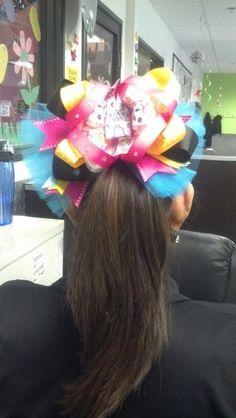 Extra large/princess bow
