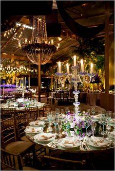 Wedding Decor | Chandeliers