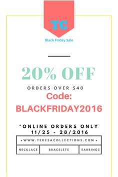 Start browsing for early Black Friday deals and shop for Christmas gift. Shop handmade jewelry. Give something unique and special this holiday seasons