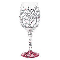 Lolita My Tiara Artisan Painted Wine Glass Gift - Wine Glasses - Ideas of Wine Glasses - Lolita My Tiara Artisan Painted Wine Glass Gift Price :