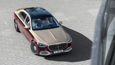2022 Mercedes-Maybach S 680 keeps its V12 and adds opulence | Autoblog Mercedes Maybach, Two Tone Paint, Luxury Crossovers, Benz S Class, Twin Turbo, Automatic Transmission, Luxury Cars, Leather