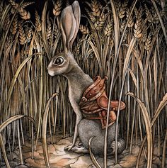 Adam Oehlers is an illustrator from Norwich, England. His magical, detailed drawings tell both known and unknown fantastic tales.