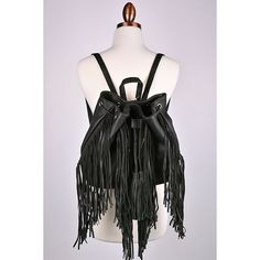 """🌚 Hang Tight Fringe Backpack - Black Approx measurements:🌚 L: 12""""🌚 W: 6"""" (when opened)🌚 H: 11""""🌚 Feel free to ask me any questions🌚 Thanks for browsing my closet!🌚 Happy Poshing🌚 Bags Backpacks"""