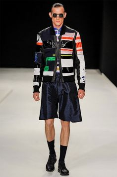 James Long Investigates A Multi-Coloured Future for Spring Summer 2014