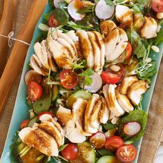 Poaching helps prevent meat from drying out - with this recipe for Poached Chicken Cucumber Sesame Salad you will find the meat remains moist and succulent.