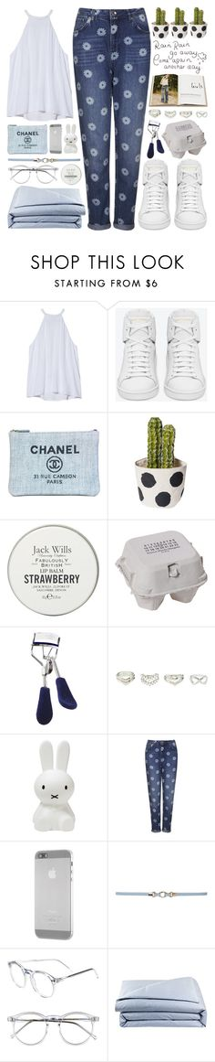 """Like You Wanna Be Loved"" by bellacharlie ❤ liked on Polyvore featuring A.L.C., Yves Saint Laurent, Chanel, Jack Wills, Maison Margiela, Eyeko, Charlotte Russe, Topshop, OZAKI and Dorothy Perkins"