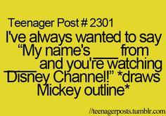 OH MY GOSH. MY LIFELONG DREAM! Lol I'm happy I'm not the only one hahaha