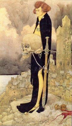 Gustav-Adolf Mossa (1883-1971), Hamlet.
