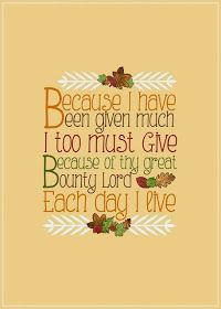 Some of the Best Things in Life are Mistakes: Free Thanksgiving Printables