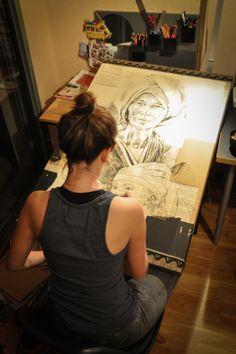 Stéphanie Ledoux - Carnets de voyage. I love her work!
