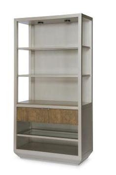 Century furniture Paragon Club Playland Etagere Bookcase - 419-772