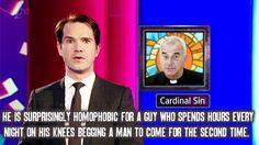 I fucking love Jimmy Carr. Atheist Agnostic, Atheist Quotes, Atheist Humor, Religious Humor, British Humor, British Comedy, Jimmy Carr, Anti Religion, A Guy Who