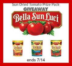 Bella Sun Luci Sun Dried Tomatoes Giveaway