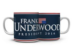 Caneca Underwood - House of Cards