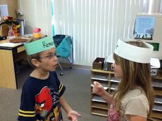 vocabulary guessing game----could also use this with sight words and have their partner spell the word and they have to figure out what they spelled