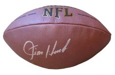 Indianapolis Colts Jim Harbaugh signed NFL Wilson full size football w/ proof photo.  Proof photo of Jim signing will be included with your purchase along with a COA issued from Southwestconnection-Memorabilia, guaranteeing the item to pass authentication services from PSA/DNA or JSA. Free USPS shipping. www.AutographedwithProof.com is your one stop for autographed collectibles from Indiana sports teams. Check back with us often, as we are always obtaining new items.