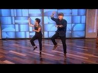 Gangnam Style Mom and Son! on the Ellen show - for when you need a smile! ;)