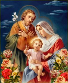 Holy Family Pictures Jesus Mary And Joseph
