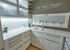 Silestone Blanco Zeus, Double Vanity, Kitchen Cabinets, Home Decor, Free Stencils, Granite Counters, Decoration Home, Room Decor, Cabinets
