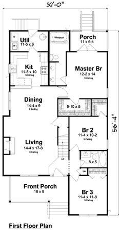 Houseplans.com Main Floor Plan Plan #312-716