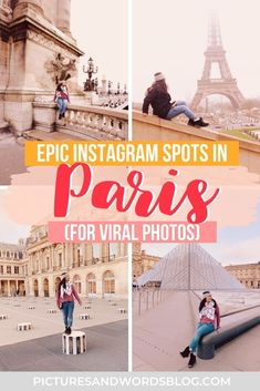 Here are the 20 most Instagrammable things to do in Paris. Filled with Paris photography inspiration, with the top Instagram spots to add to your Paris itinerary. This is a must-read guide before any Paris travel! Paris Travel, France Travel, Italy Travel, European Travel Tips, Europe Travel Guide, Paris Itinerary, France Photography, Paris Pictures, Travel Inspiration