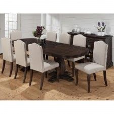 Grand Terrace 634-102 Wood Rectangle Dining Table & Chairs by Jofran