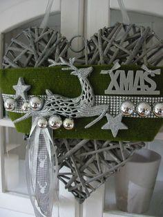 t rkranz wandkranz weihnachtskranz wei silber 35cm stern silber merry x mas basteln. Black Bedroom Furniture Sets. Home Design Ideas