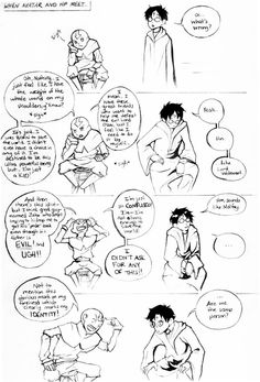 Aang meets HP. Are we the same person?  I have never watched avatar but i know some stuff about it...funny. :)