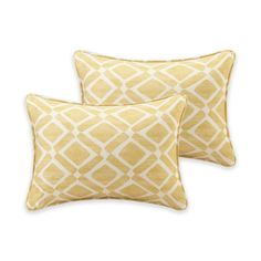 product image for Madison Park Delray Diamond Printed 14-Inch x 20-Inch Decorative Pillow (Set of 2)