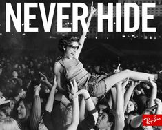 ray ban | never hide