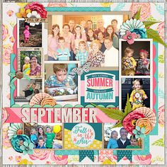 Single 109: Lots of Snapshots 65 by Cindy Schneider Layered Cards: September by Cindy Schneider In Bloom by Amber Labau and Sugarplum Paperie