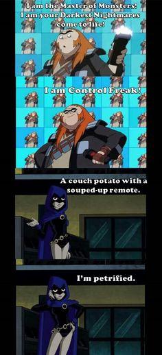Raven tho ♥ ravens reaction to people fangirling! Evil fangirling! Lol