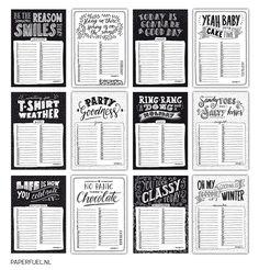 Leuke verjaardagskalender met op elke pagina een andere quote. Nu heb je dus geen reden meer om een verjaardag te vergeten! :-) De kalender is op A5 formaat met een ringetje linksbovenin. /// PRODUCT INFORMATIE /// • Formaat: A5 • Papier: 340 gr glad wit papier • Gebonden met een metalen boekbindersring • Wordt verpakt…