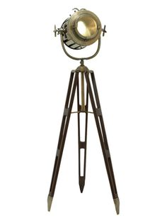 Tripod Spotlight from Lighting for the Whole Home on Gilt