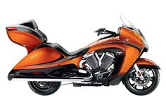 2014 Victory Motorcycles Victory Vision® Tour Nuclear Sunset - MSRP $21,999…