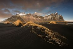 Vesturhorn Stockness by Dany Eid  I have been at many mountains but this one is unique surrounded with a black sands. Shot with Zeiss Milvus by adding Formatt-hightech soft edge 0.6 Dany Eid: Photos          500px