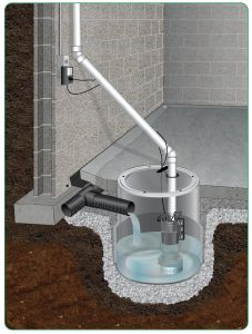 Fresh Basement Utility Sink with Pump