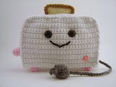 Crochet amigurmi toaster
