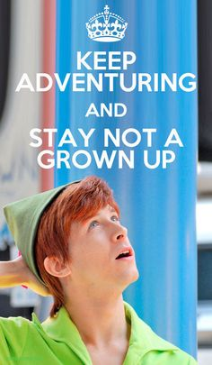 Speiling Peter Pan (aka Andrew Ducote). I only met him one time and I will never forget it. He is an incredible and amazing person and I hope I can find someone just as amazing as he is. <3