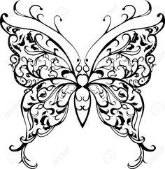 butterfly lace tattoos - Recherche Google