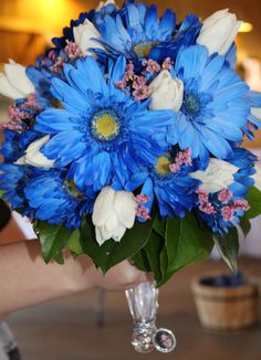 Condon wedding, bride's bouquet