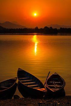 Photograph Phewa Lake by Alex A. Belov on 500px )
