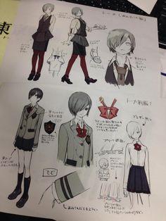 Touka Kirishima https://twitter.com/tkg_anime