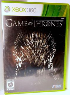 (*** http://BubbleCraze.org - You'll never put this Android/iPhone game down! ***)  Game of Thrones Video Game (Microsoft Xbox 360, 2015) XBOX360 Game Action HBO #TelltaleGames