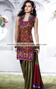 Oh, I like this one!-Salwar Kameez