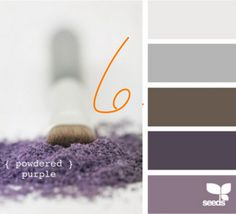 Grey//plum// color palette// I like these mix of colors for the master bedroom. It feels cozy, but not overstated.