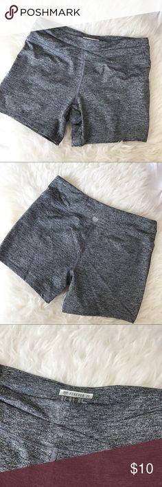 Forever 21 Activewear NWOT Forever 21 activewear high rise shorts. Never worn, like new!                       •n o  t r a d e s• •s m o k e  f r e e / p e t  f r e e  h o m e•   •s a m e / n e x t  d a y  s h i p p i n g• Forever 21 Shorts